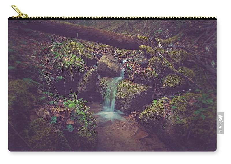 Woods Carry-all Pouch featuring the photograph In The Woods by Shane Holsclaw