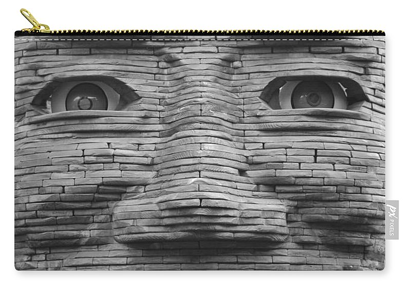 Architecture Carry-all Pouch featuring the photograph In Your Face by Rob Hans