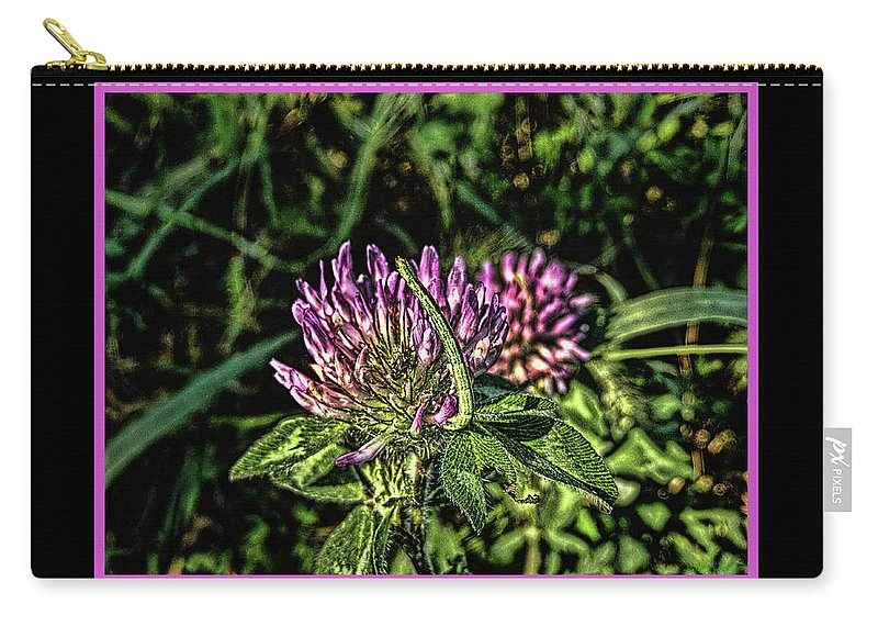 Inchworm Carry-all Pouch featuring the photograph Inchworm by Bob Welch