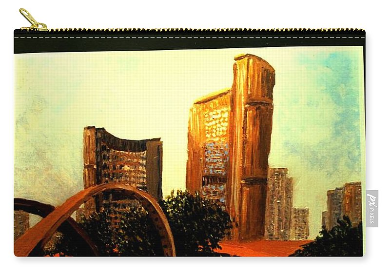 Canada Carry-all Pouch featuring the photograph Incredible by Ian MacDonald