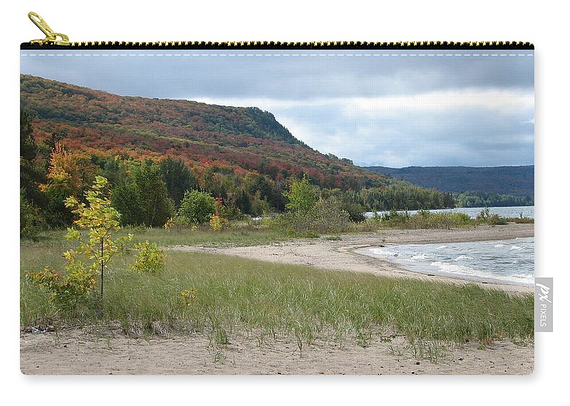 Beach Carry-all Pouch featuring the photograph Independence by Kelly Mezzapelle