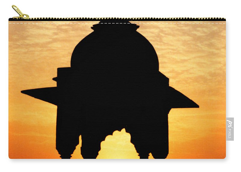 India Carry-all Pouch featuring the photograph India by Kurt Van Wagner