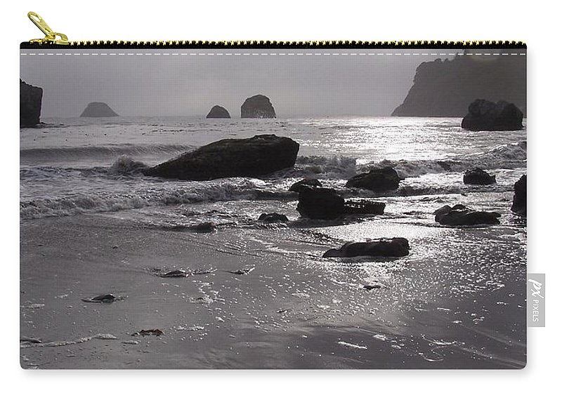 Beach Carry-all Pouch featuring the photograph Indian Beach by Gale Cochran-Smith