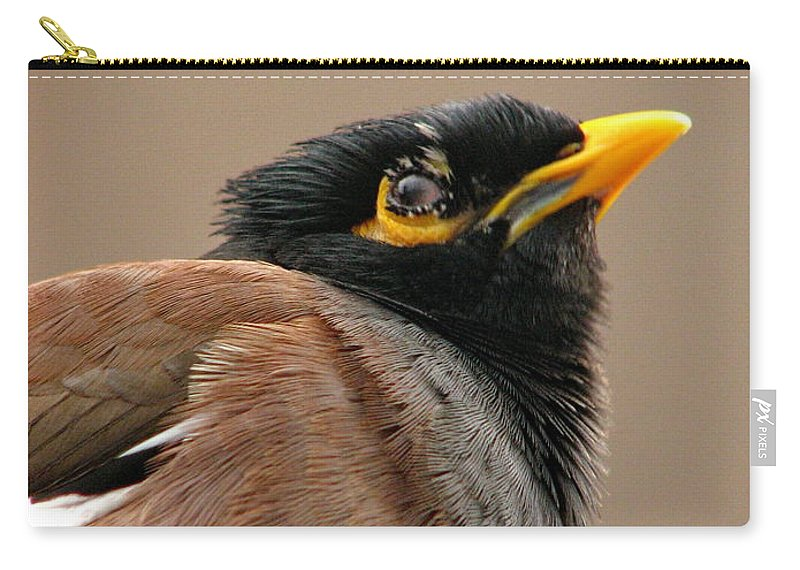 Indian Carry-all Pouch featuring the photograph Indian Miner-2 by Alexey Dubrovin