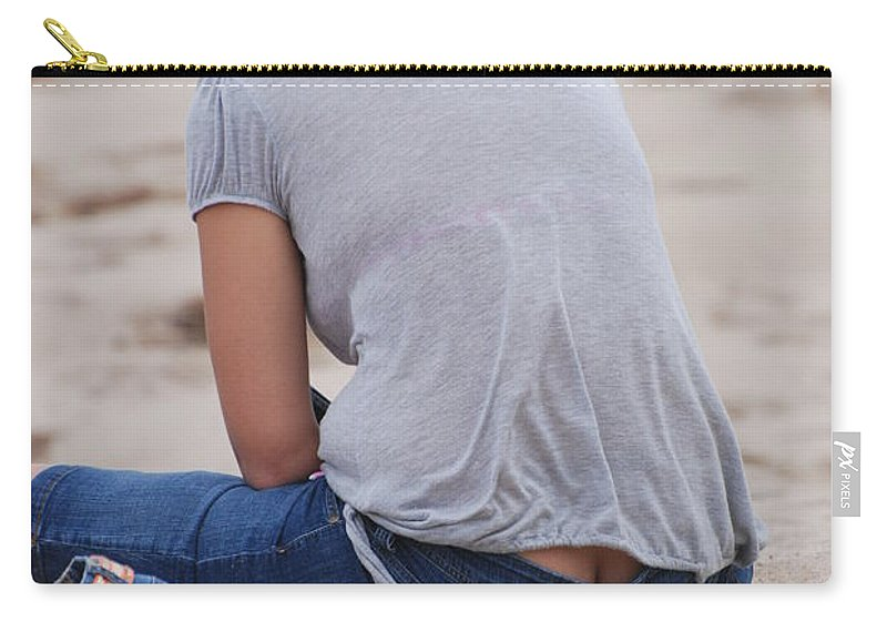 Girl Carry-all Pouch featuring the photograph Indiana Girl by Rob Hans