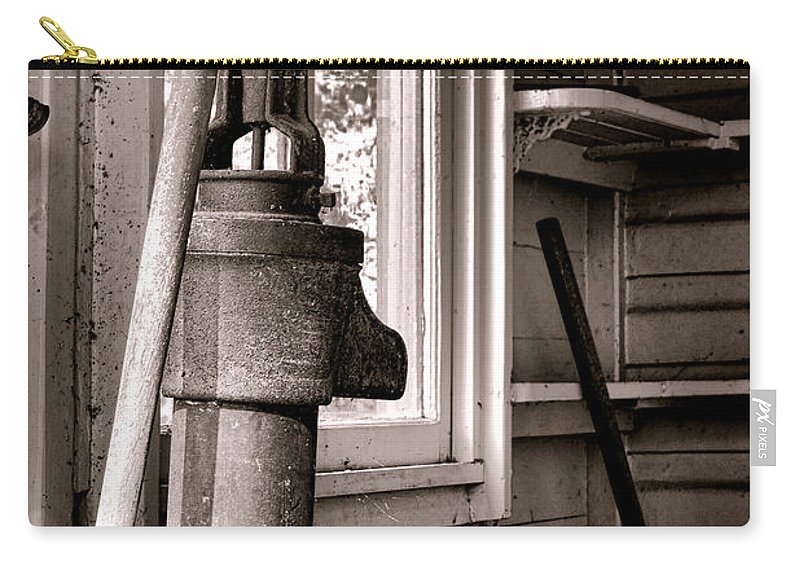 Water Carry-all Pouch featuring the photograph Indoor Plumbing by Olivier Le Queinec