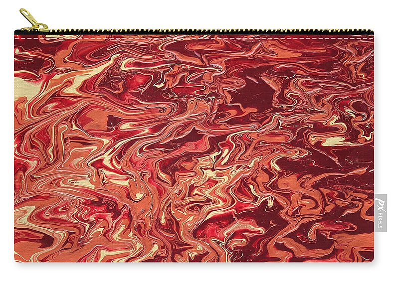 Fusionart Carry-all Pouch featuring the painting Indulgence by Ralph White