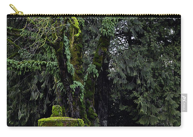 Clay Carry-all Pouch featuring the photograph Infected by Clayton Bruster