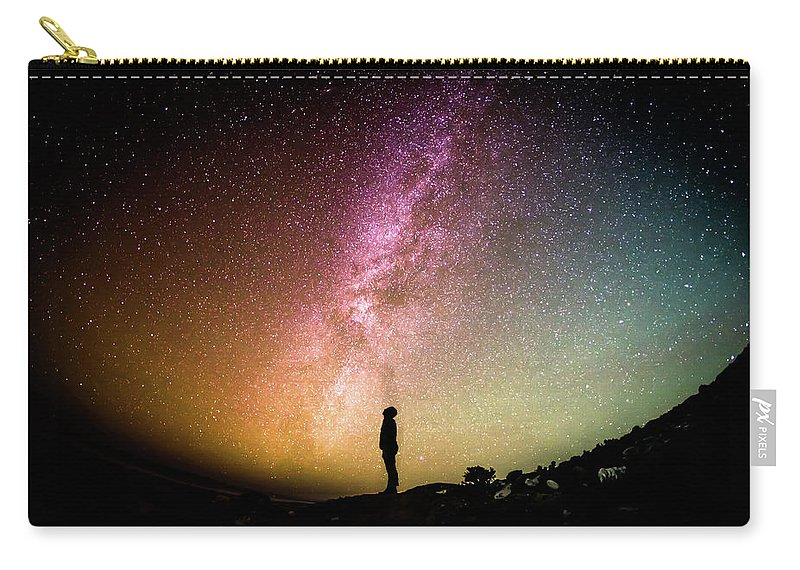 Sky Carry-all Pouch featuring the photograph Infinite Possibilities by Happy Home Artistry