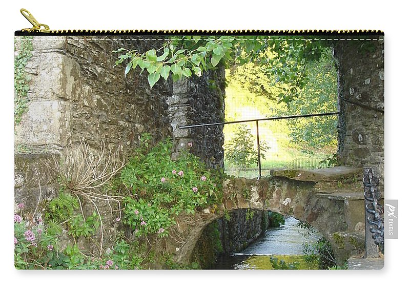 Inistioge Carry-all Pouch featuring the photograph Inistioge by Kelly Mezzapelle
