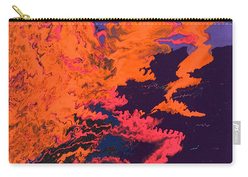 Fusionart Carry-all Pouch featuring the painting Initiative by Ralph White
