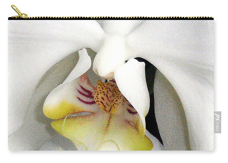 Orchid Carry-all Pouch featuring the photograph Inner Angel by Mindy Newman