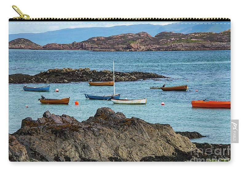 Isle Of Iona Carry-all Pouch featuring the photograph Inner Hebrides Transportaion by Bob Phillips