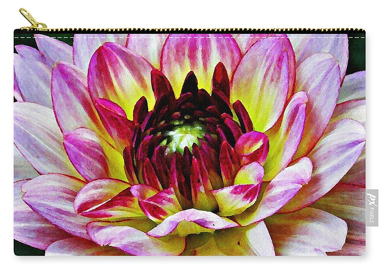 Flower Carry-all Pouch featuring the photograph Inner Light by Sarah Loft