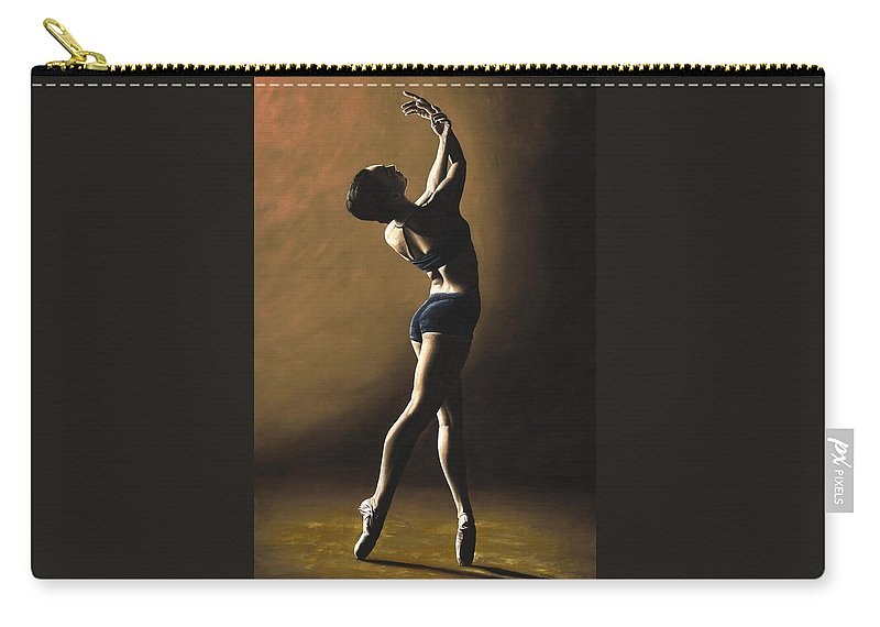 Dance Carry-all Pouch featuring the painting Inner Sanctuary by Richard Young