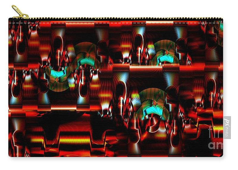 Abstract Carry-all Pouch featuring the photograph Inner Workings by Ron Bissett