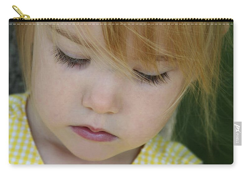 Angelic Carry-all Pouch featuring the photograph Innocence II by Margie Wildblood
