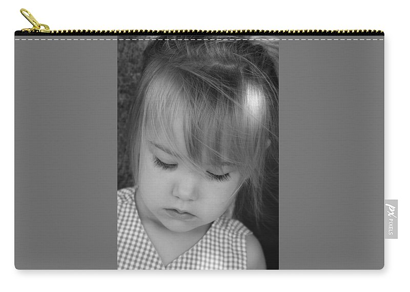 Angelic Carry-all Pouch featuring the photograph Innocence by Margie Wildblood