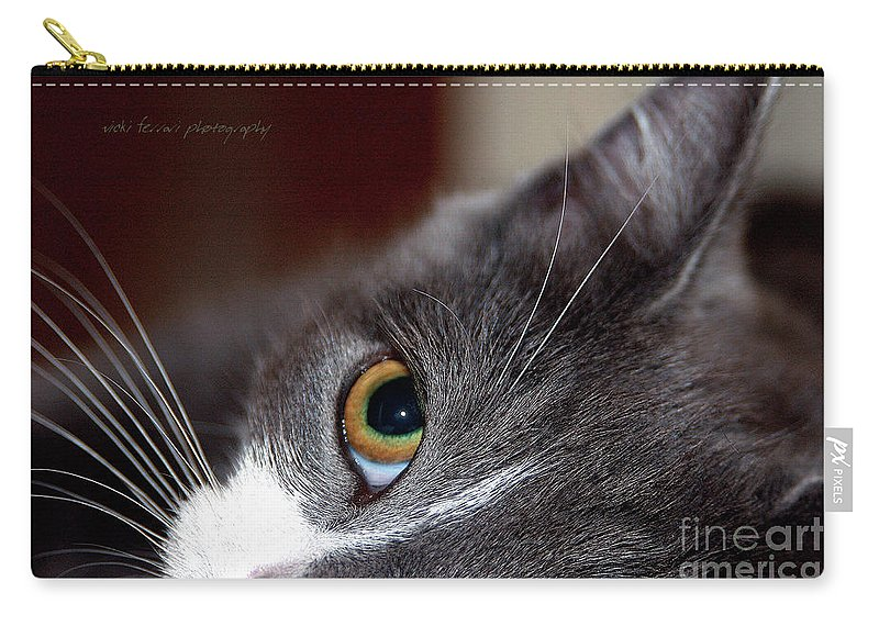 Vicki Ferrari Photography Carry-all Pouch featuring the photograph Innocence by Vicki Ferrari