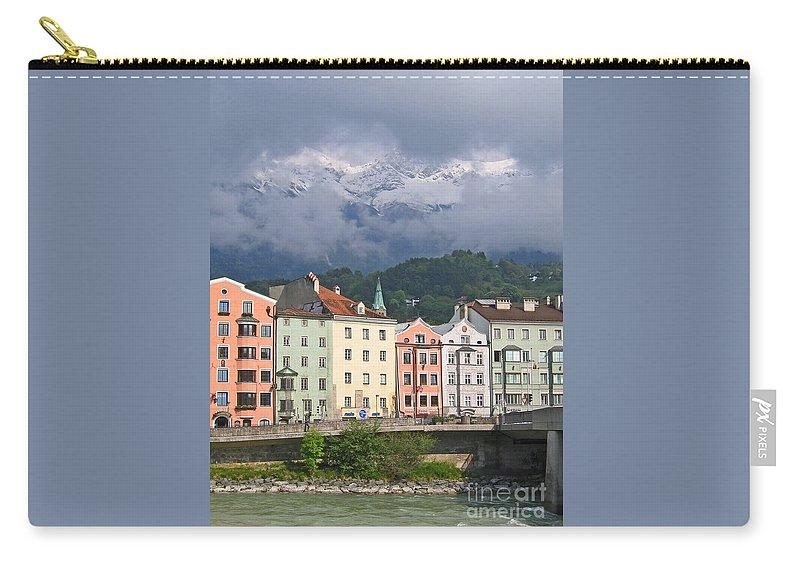 Innsbruck Carry-all Pouch featuring the photograph Innsbruck by Ann Horn