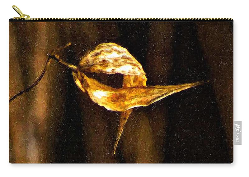 Autumn Carry-all Pouch featuring the photograph Inseparable by Steve Harrington