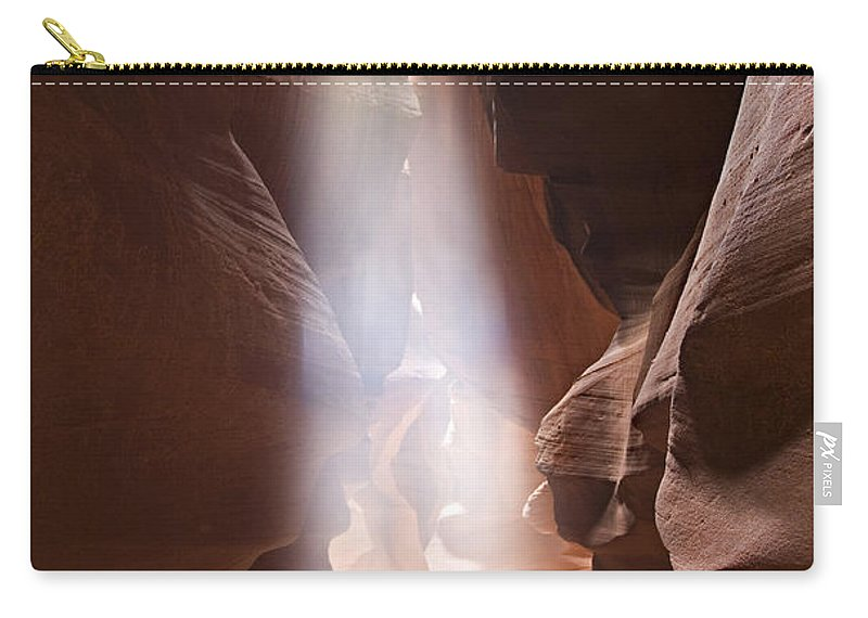 Slot Carry-all Pouch featuring the photograph Inspiration by Mike Dawson