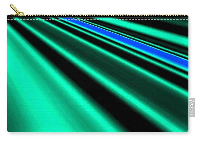 Abstract Carry-all Pouch featuring the digital art Inspiration by Will Borden