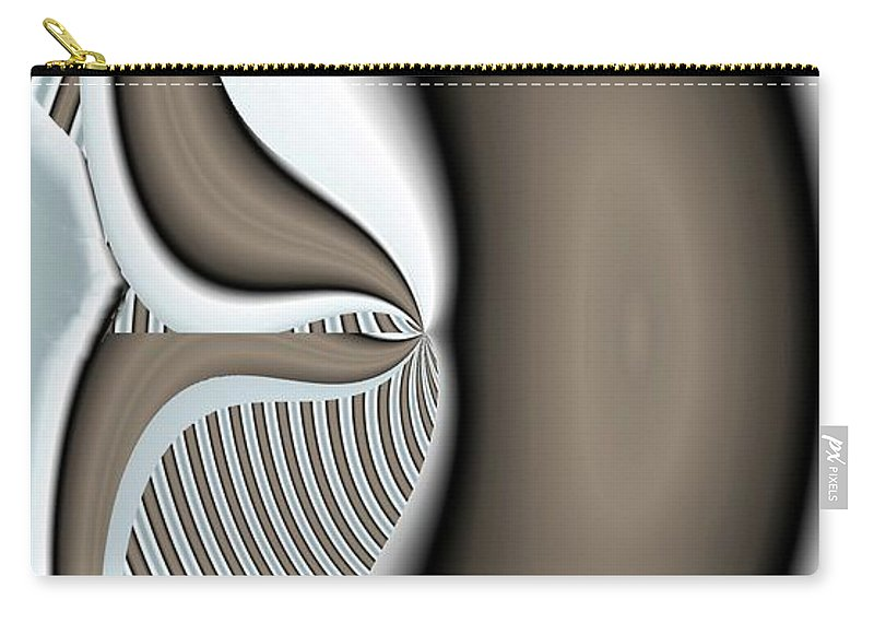 Gradient Carry-all Pouch featuring the digital art Intake by Ron Bissett