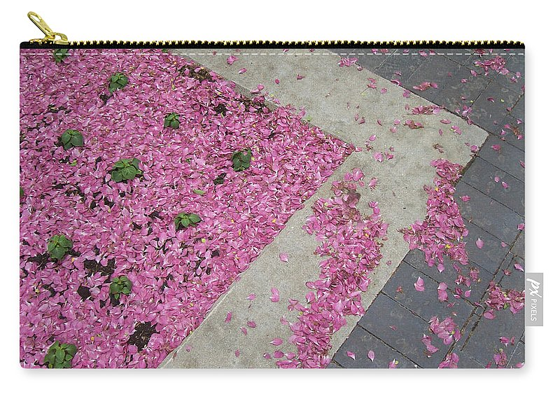 Nature Carry-all Pouch featuring the photograph Integrity by Mary Mikawoz
