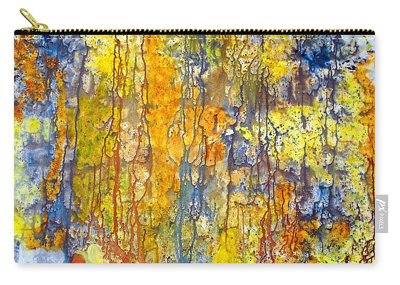 Abstract Carry-all Pouch featuring the painting Intercessory Prayers by Ruth Palmer