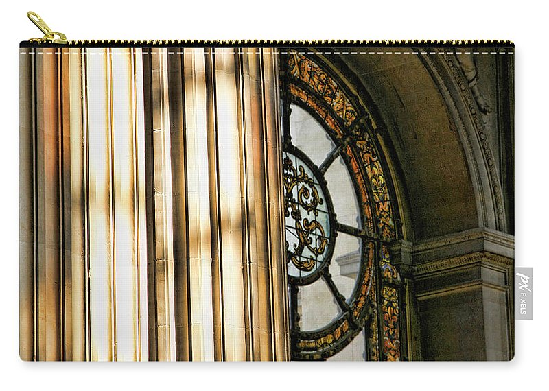 France Carry-all Pouch featuring the photograph Interior Architecture Versailles Chateau France by Chuck Kuhn