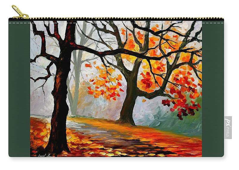Landscape Carry-all Pouch featuring the painting Interplacement by Leonid Afremov