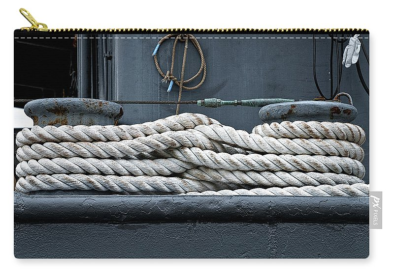 Rope Carry-all Pouch featuring the photograph Intertwined by Christopher Holmes