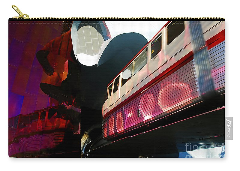 Future Carry-all Pouch featuring the photograph Into The Future by David Lee Thompson