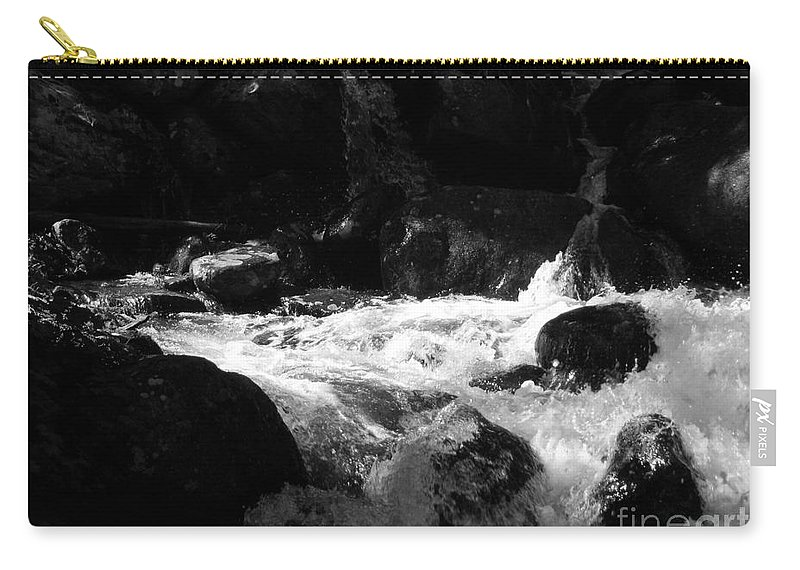 Rivers Carry-all Pouch featuring the photograph Into The Light by Amanda Barcon