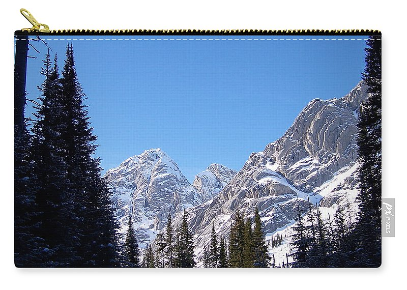 Scenic Carry-all Pouch featuring the photograph Into The Light by Greg Hammond