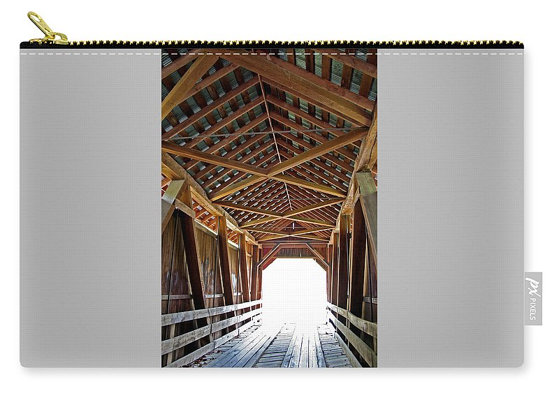 Light Carry-all Pouch featuring the photograph Into The Light by Margie Wildblood