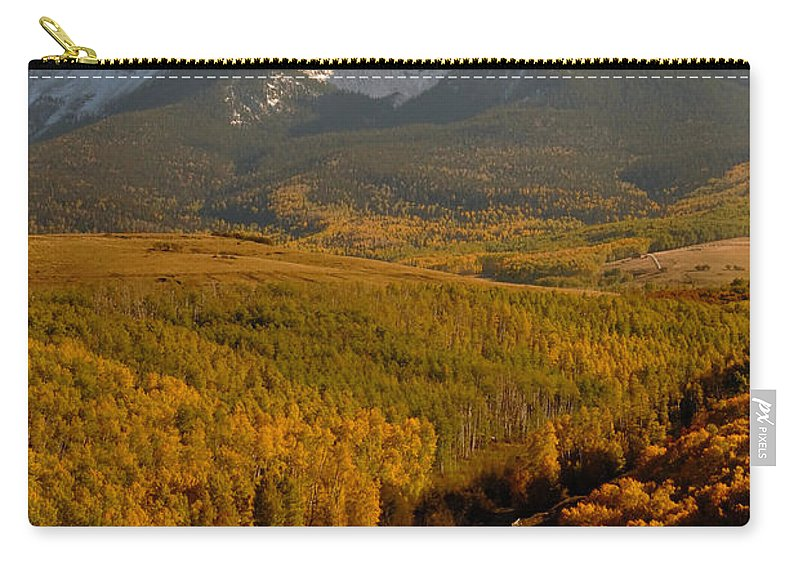 San Juan Mountains Carry-all Pouch featuring the photograph Into The Mountains by David Lee Thompson