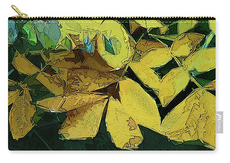 Foliage Carry-all Pouch featuring the digital art Into The Woods by Gina Harrison