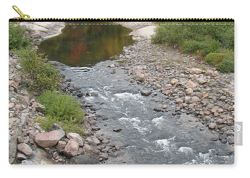 Water Carry-all Pouch featuring the photograph Into The Woods by Kelly Mezzapelle