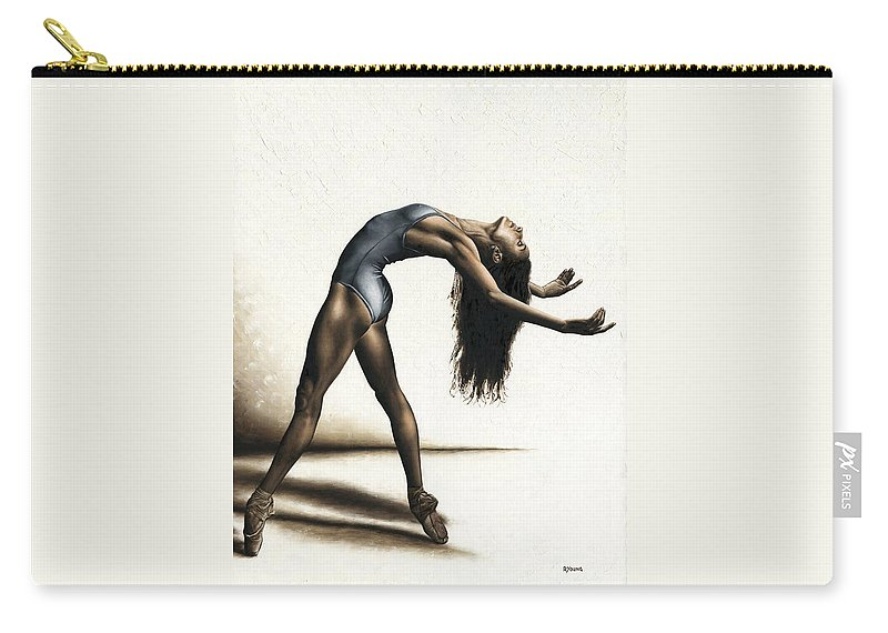 Dance Carry-all Pouch featuring the painting Invitation to Dance by Richard Young