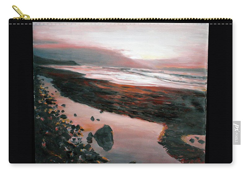 Landscape Carry-all Pouch featuring the painting Ireland by Pablo de Choros