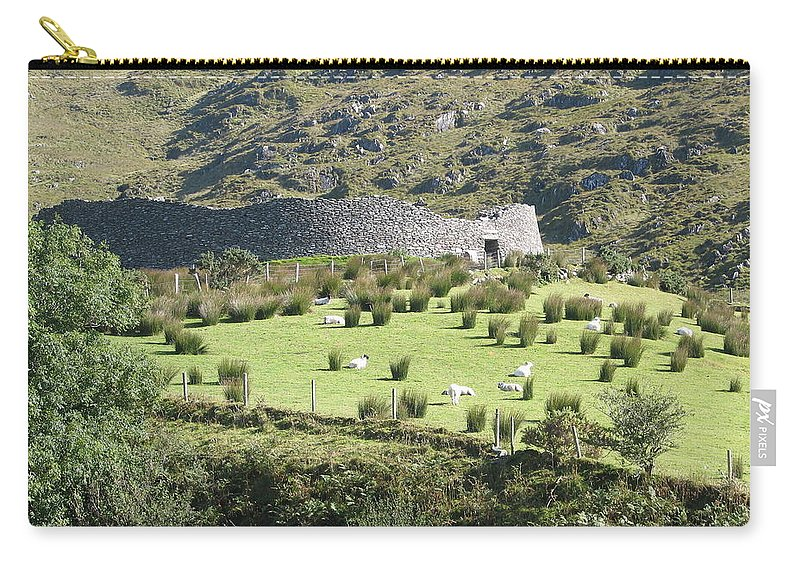 Ireland Carry-all Pouch featuring the photograph Ireland by Kelly Mezzapelle