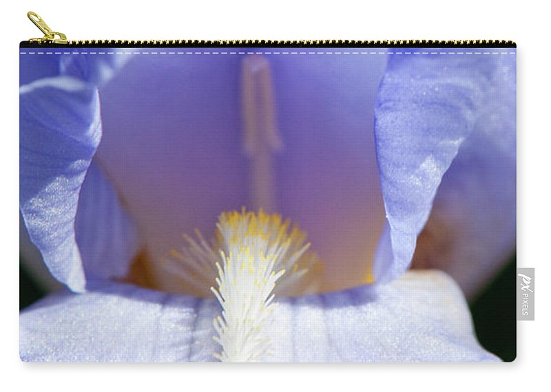 Iris Carry-all Pouch featuring the photograph Iris by Steven Natanson