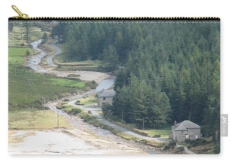 Ireland Carry-all Pouch featuring the photograph Irish Valley by Kelly Mezzapelle