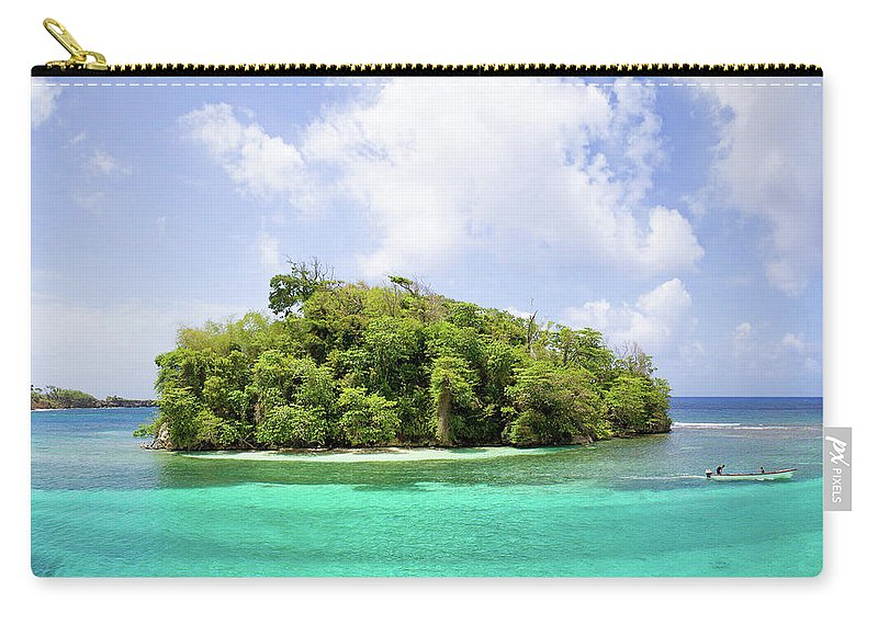Jamaica Carry-all Pouch featuring the photograph Island by Ferry Zievinger