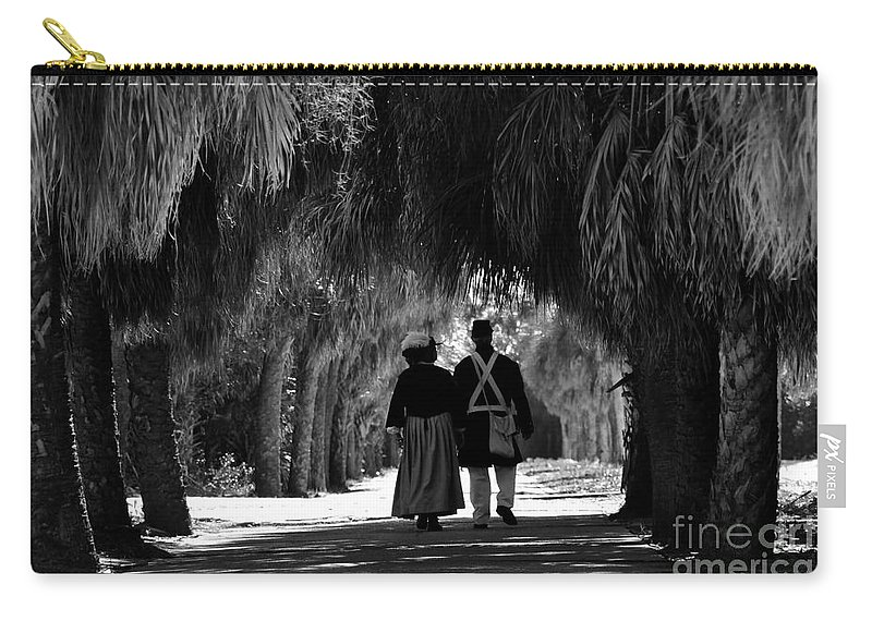 Historic Carry-all Pouch featuring the photograph Island History by David Lee Thompson