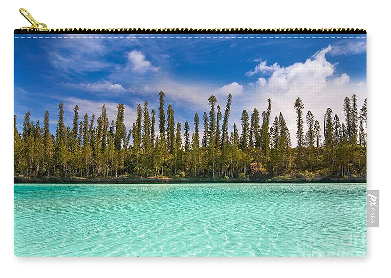 Beach Carry-all Pouch featuring the photograph Isle Of Pines by Delphimages Photo Creations