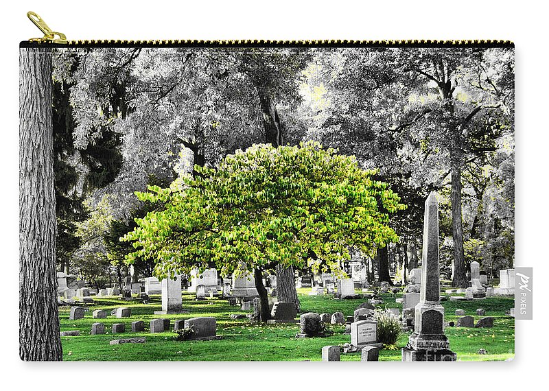 Tree Carry-all Pouch featuring the photograph Isolated by September Stone