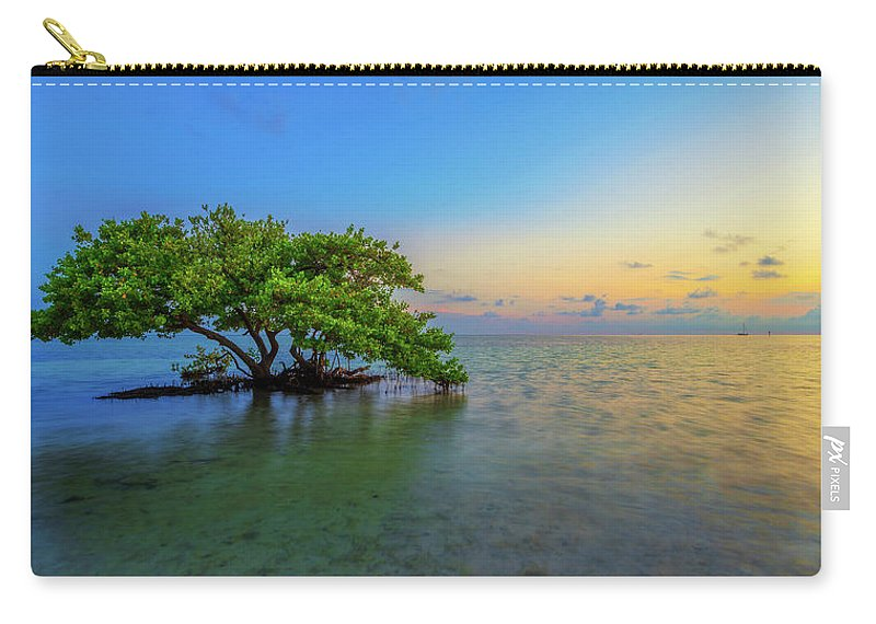 Mangrove Carry-all Pouch featuring the photograph Isolation by Chad Dutson